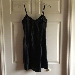 Marc Jacobs short satin little black dress